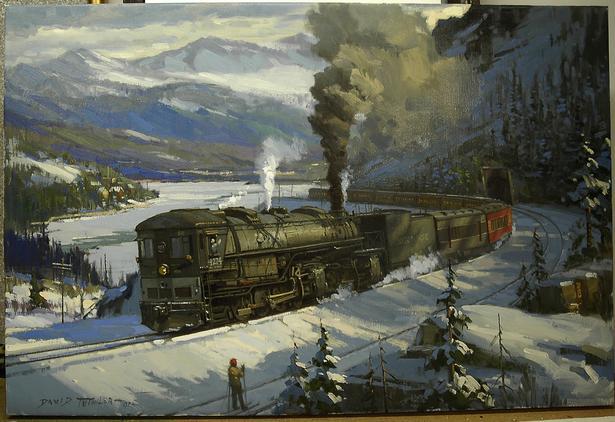 Train Paintings