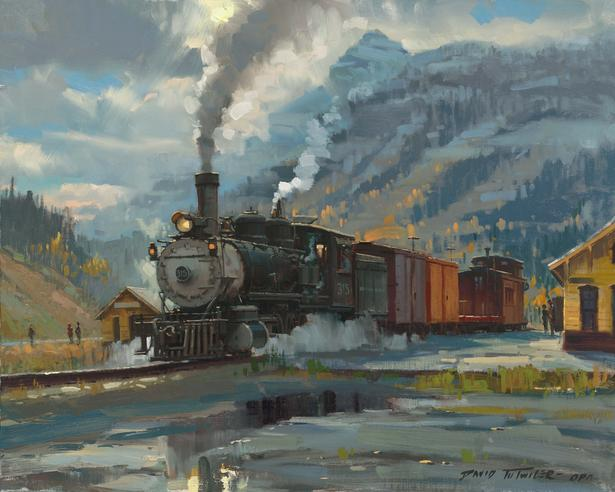Train Paintings