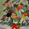 Mickey's Christmas Gifts 14 x 11