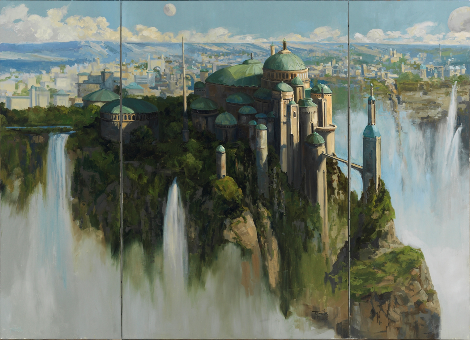 Reduced The Palace Theed Triptych X X X By Line Tutwiler